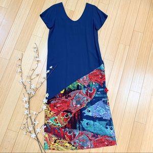 JAMS WORLD Koi fish maxi dress, S/M.
